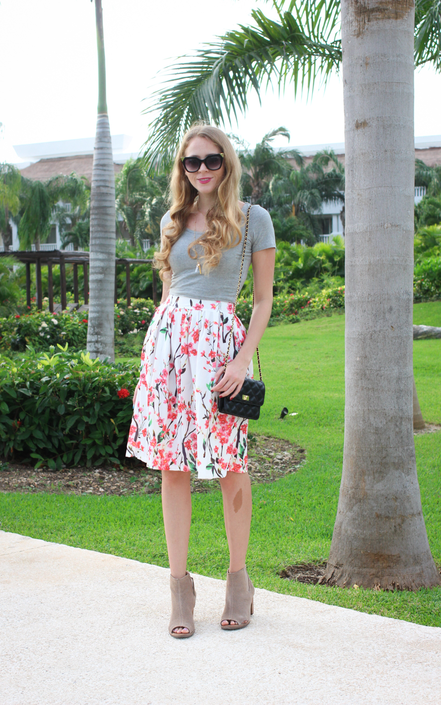 floral midi skirt (1 of 6)