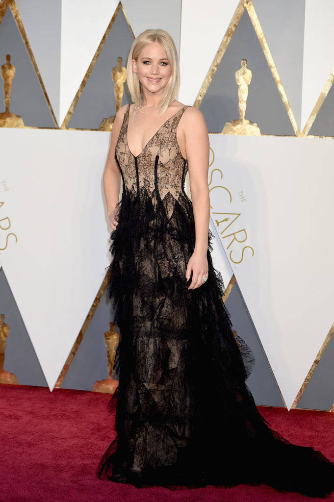 oscars 2016 jennifer lawrence