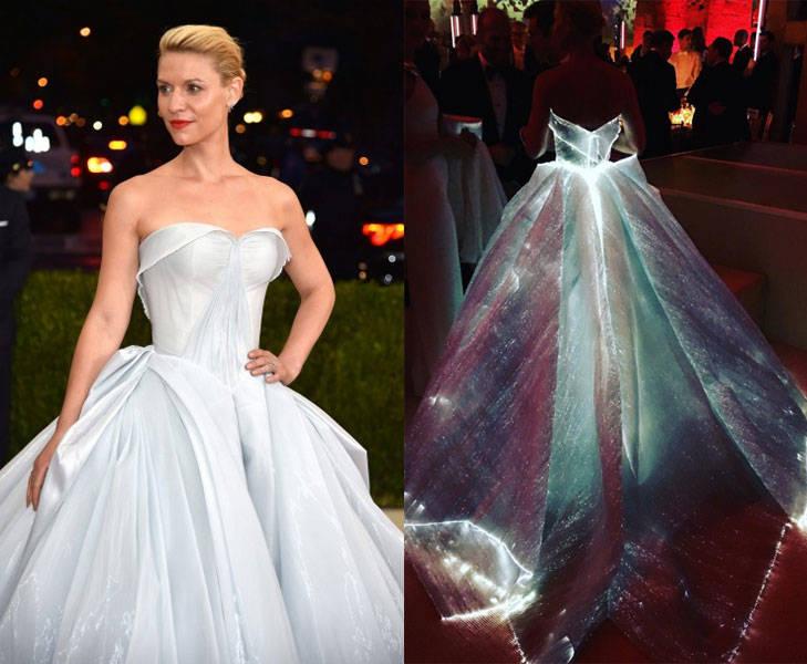 claire danes met gala dress