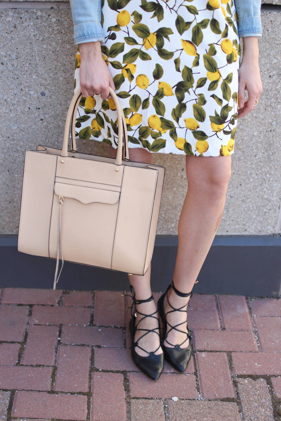 lemon print dress (5 of 11)