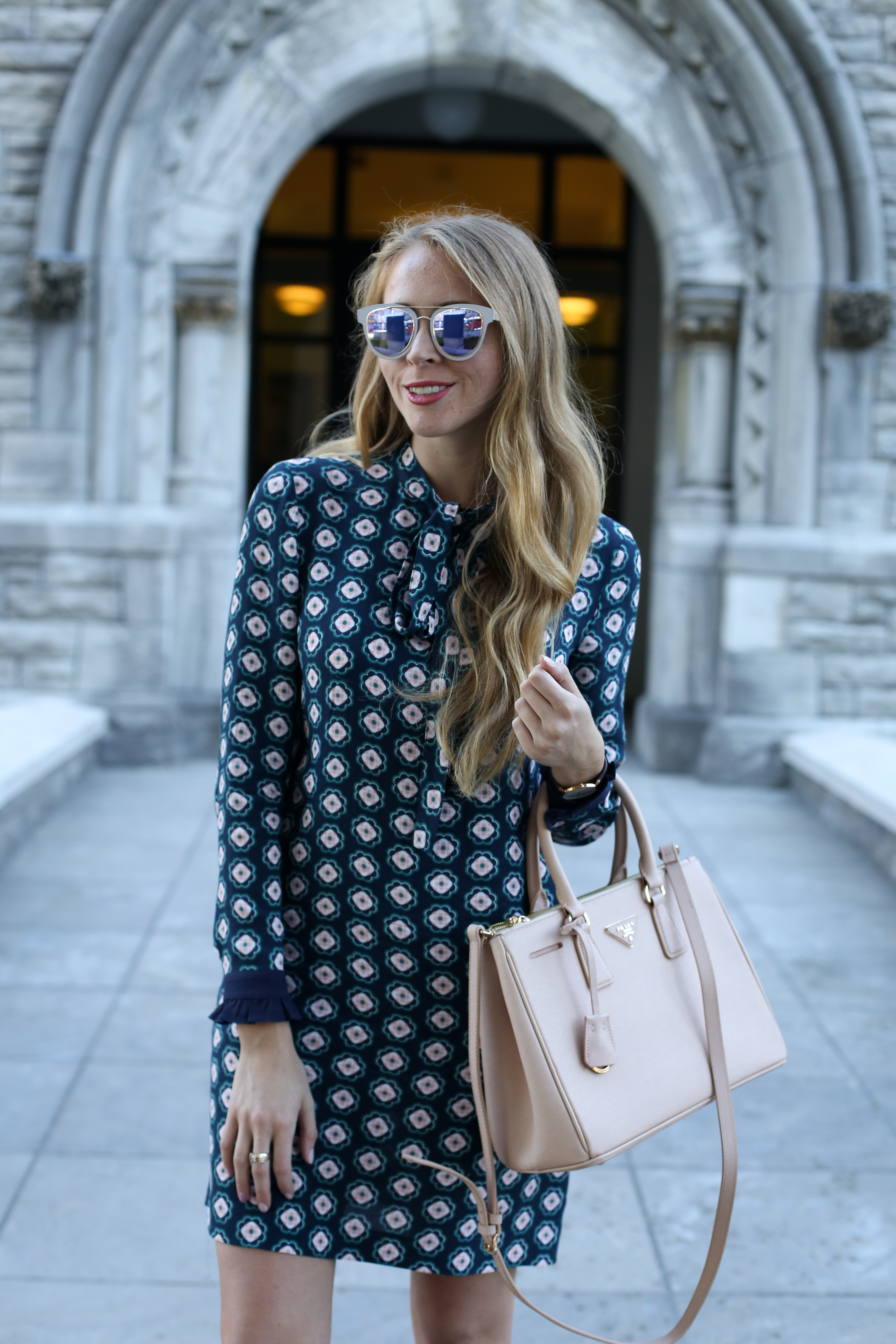patterned-bow-neck-dress-3-of-5