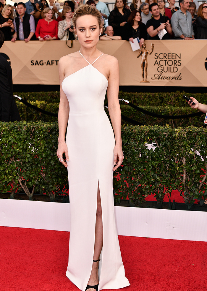 Brie Larson SAG Awards best dressed