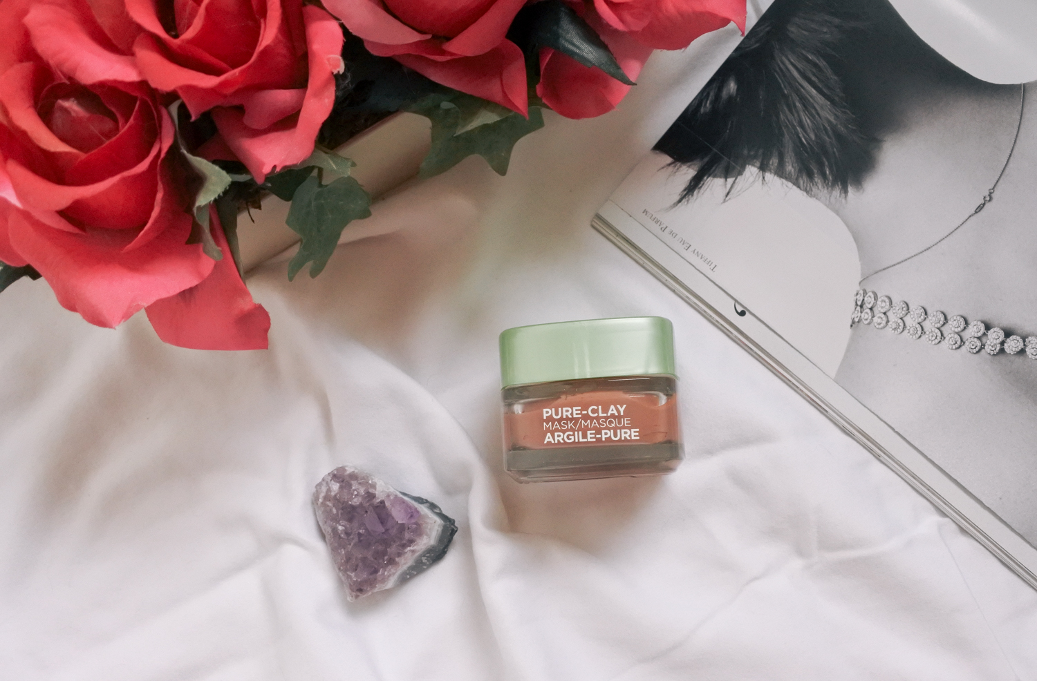 l'oreal pure clay mask exfoliating