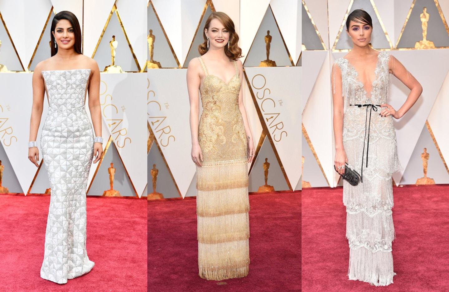 2017 Oscars Best and Worst Dressed + red carpet trends