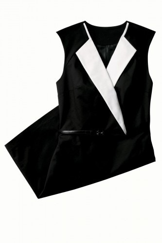 3.1 phillip lim black and white dress