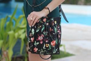 3.1 phillip lim floral bucket bag