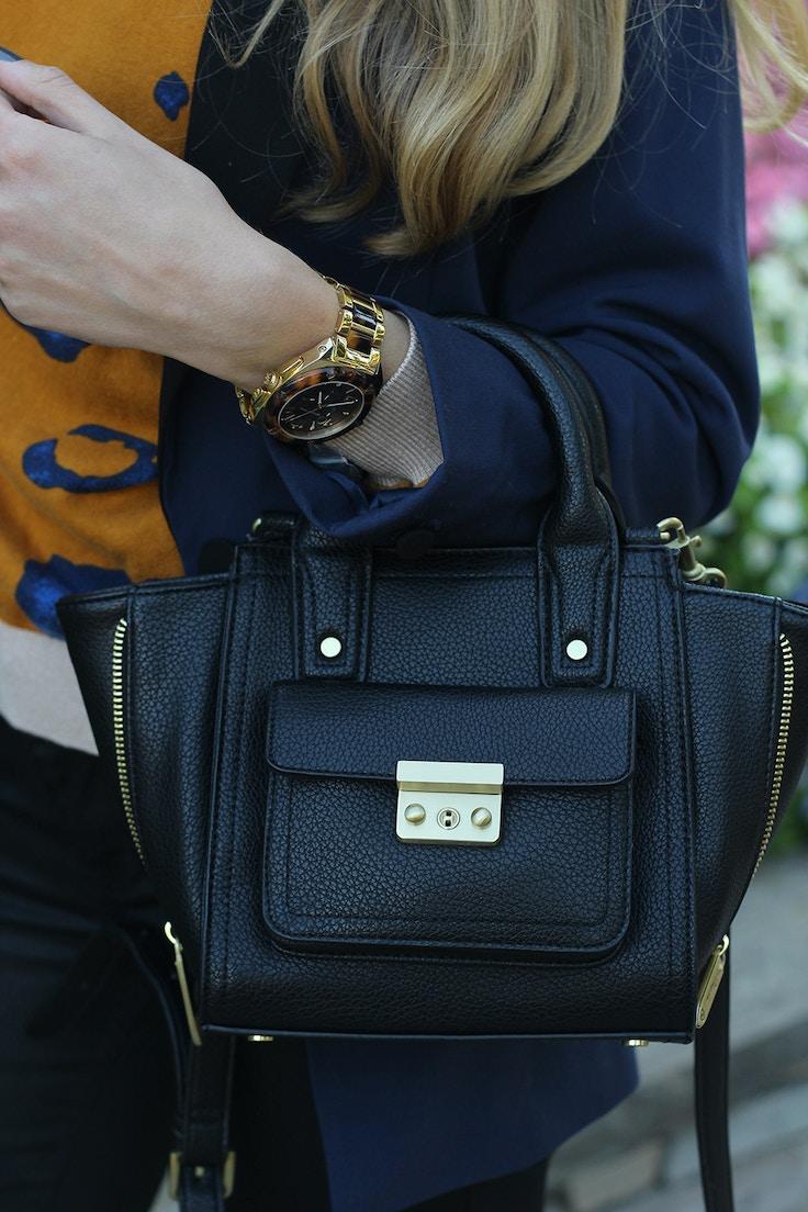 3.1 phillip lim for target mini black bag