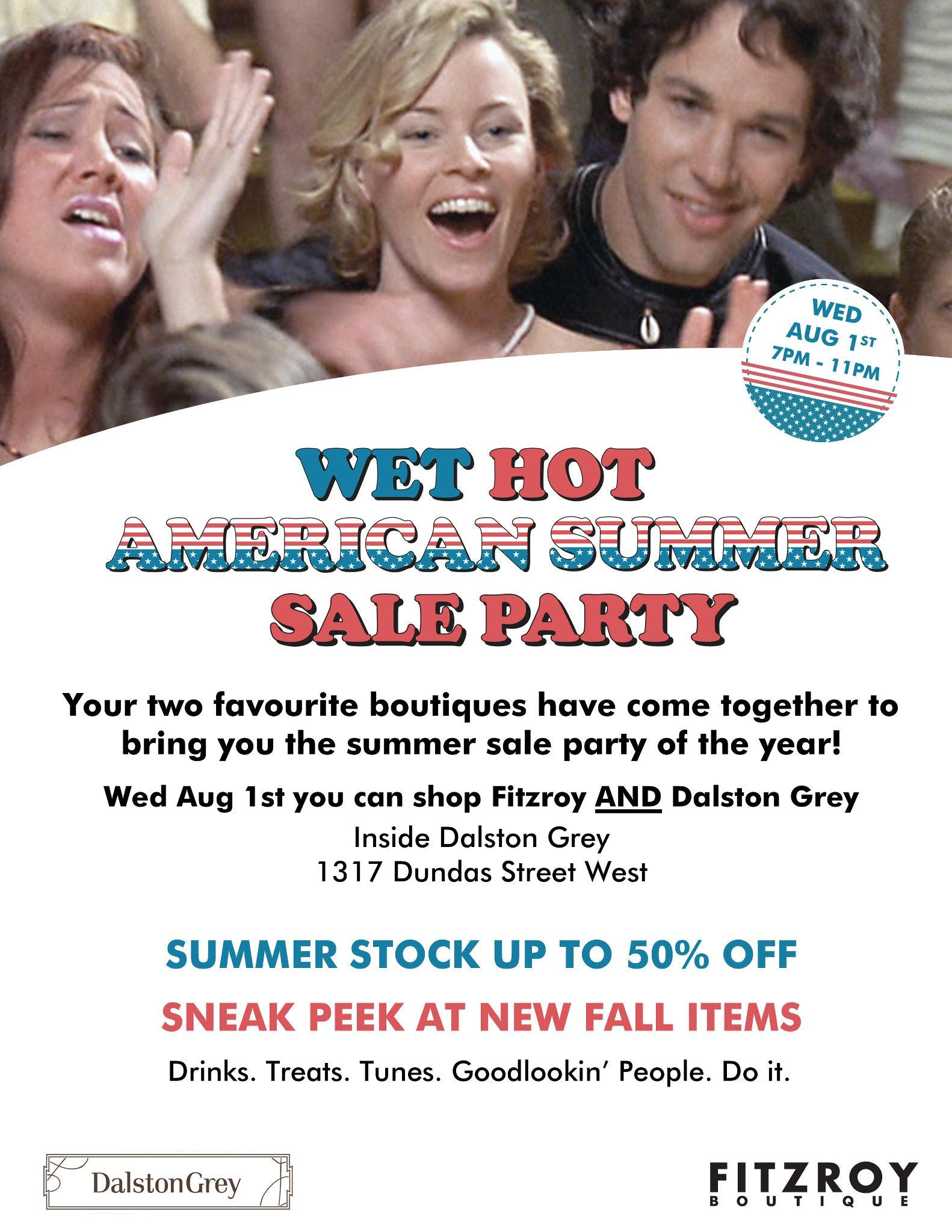 Sale Alert: Wet Hot American Summer-Sale