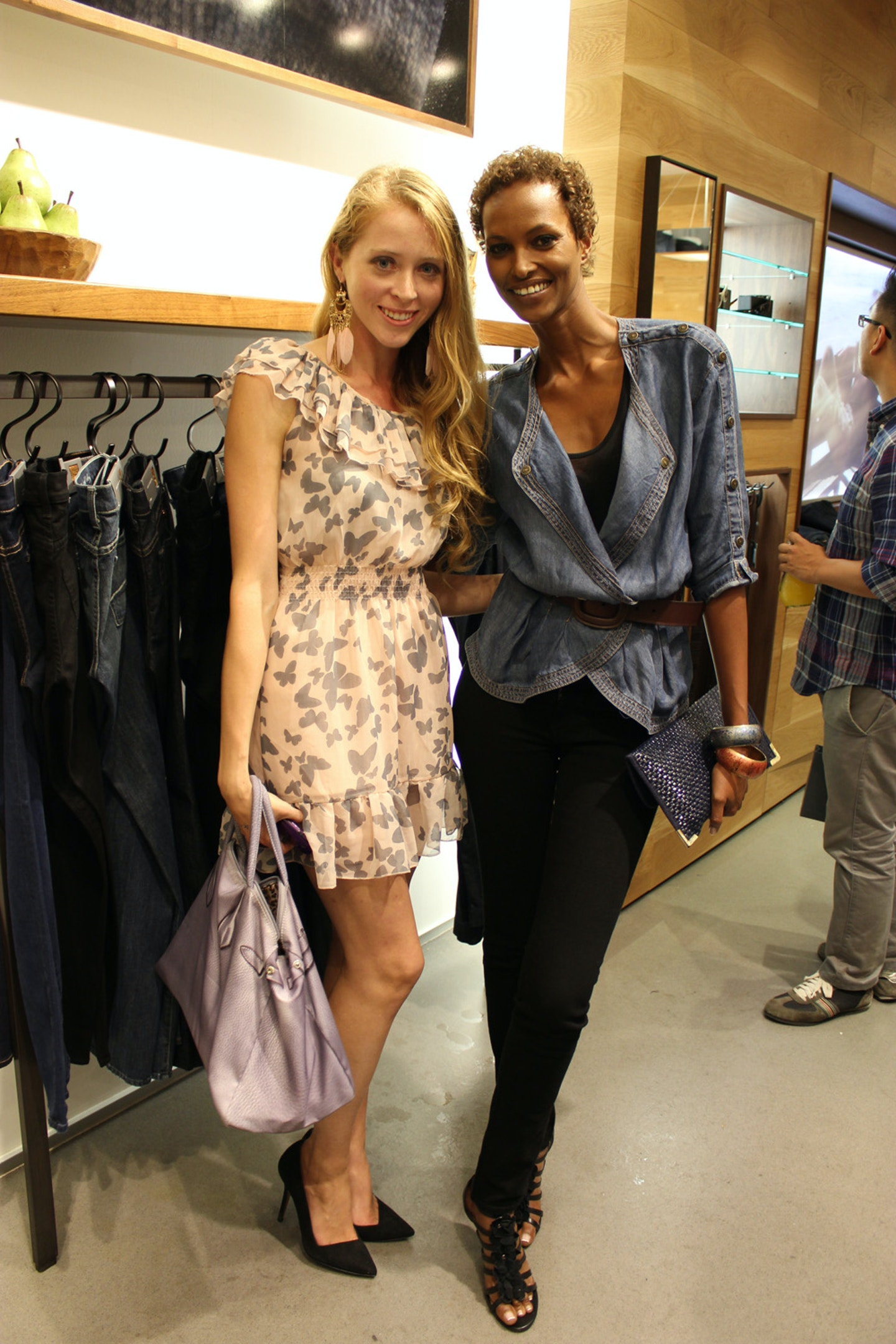 7 For All Mankind Store Opening