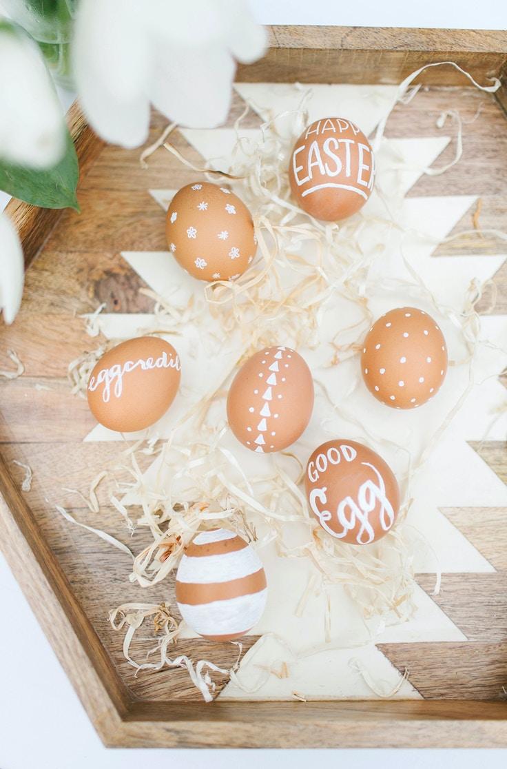 Chalk Egg Decorating