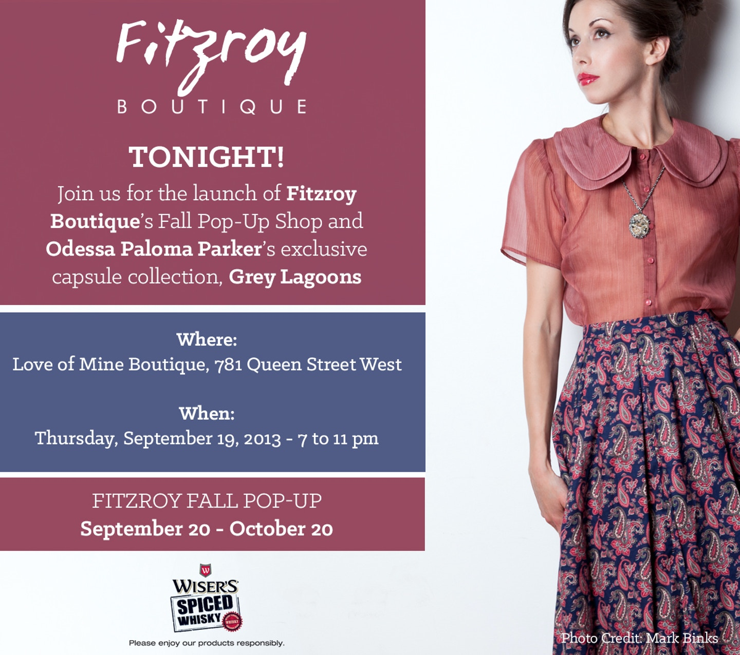 Fitzroy Boutique Fall Pop-Up & Preview
