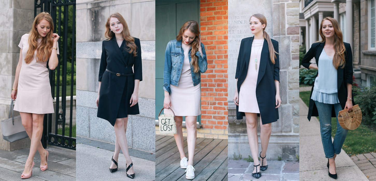Grayes Girl: How to wear two work wear pieces 5 different ways