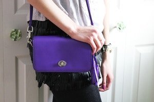 Coach Legacy in Ultraviolet