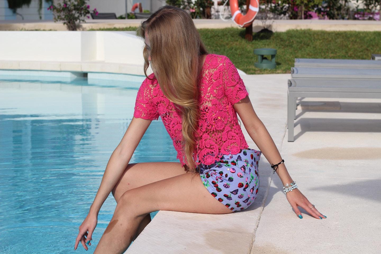 Carmen Miranda Shorts
