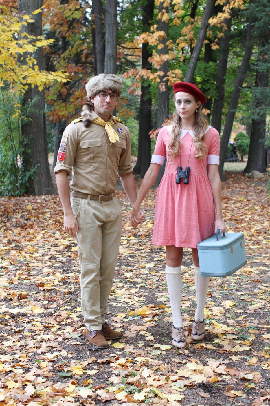 moonrise kingdom sam and suzy couples halloween costume