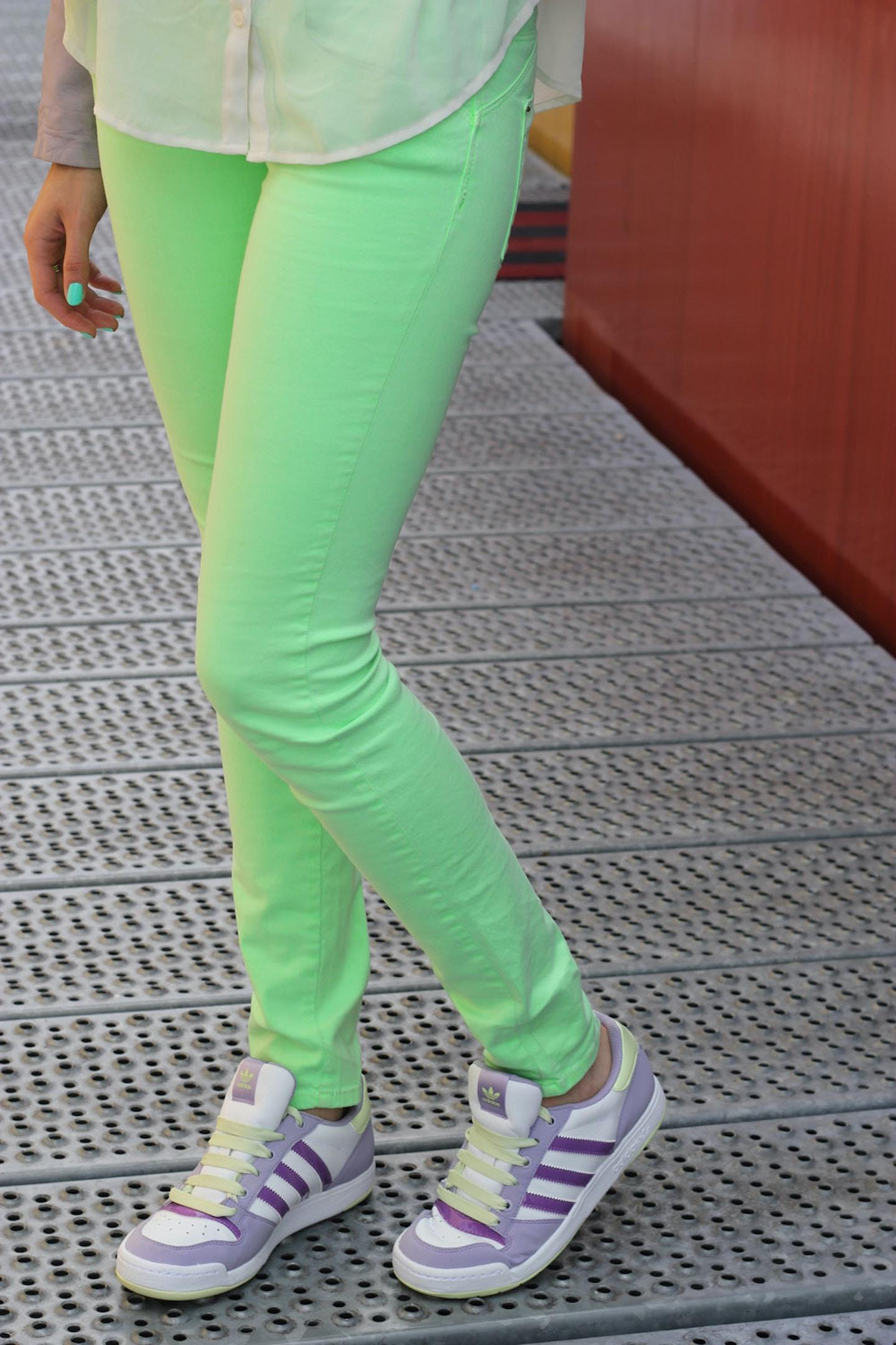Pistachio & Lavender Adidas