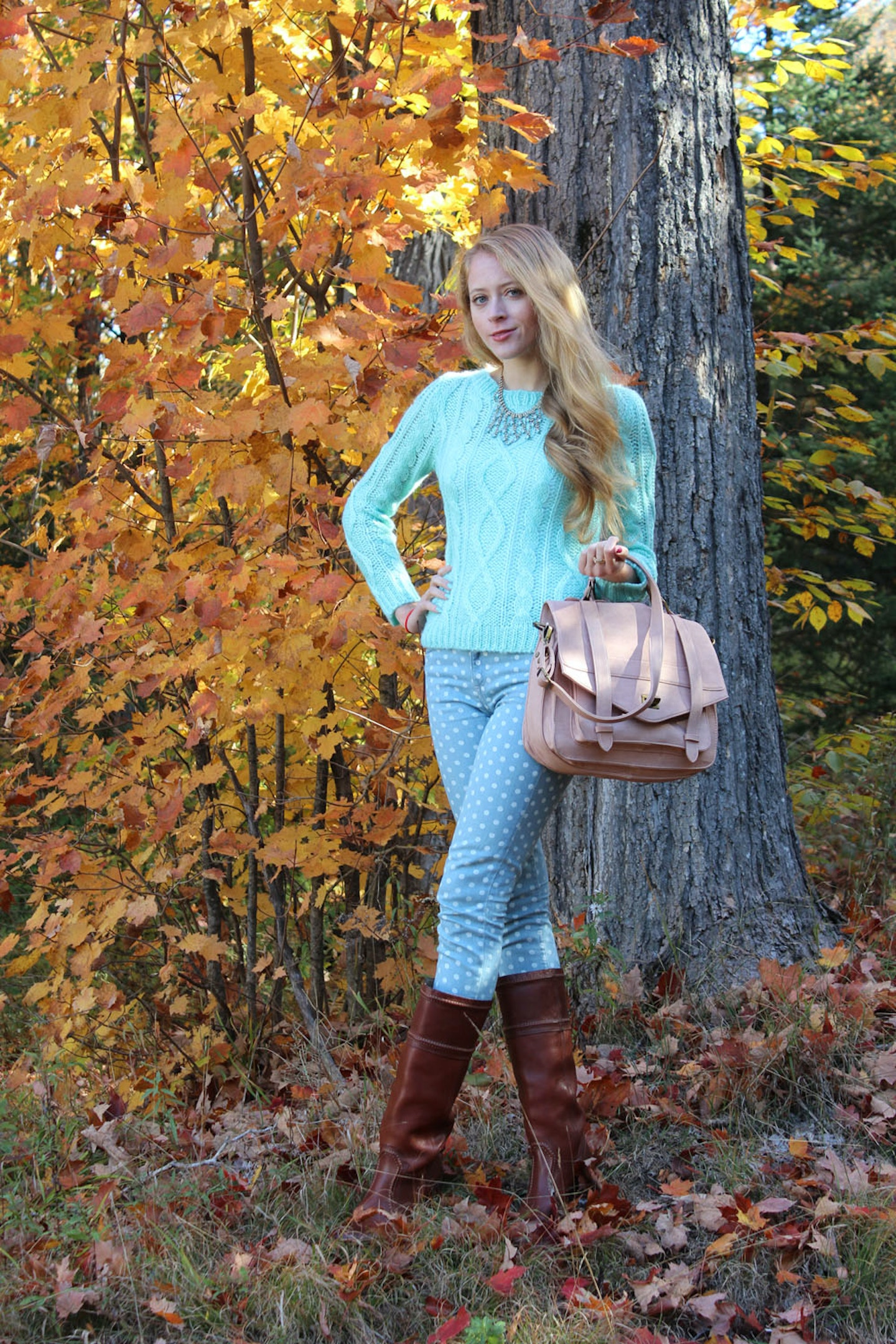 Pastels in late Autumn
