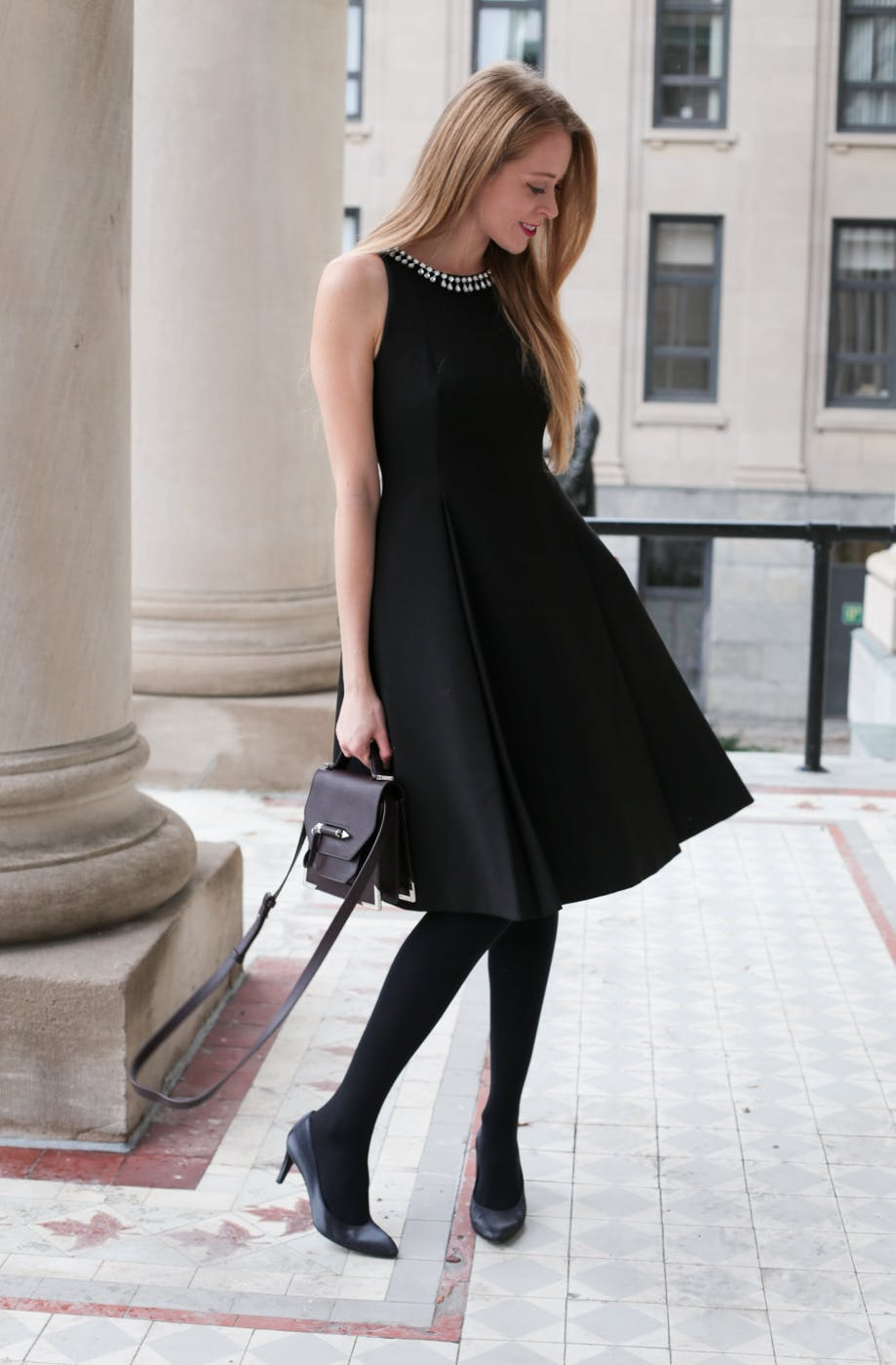 Kate Spade black cocktail dress