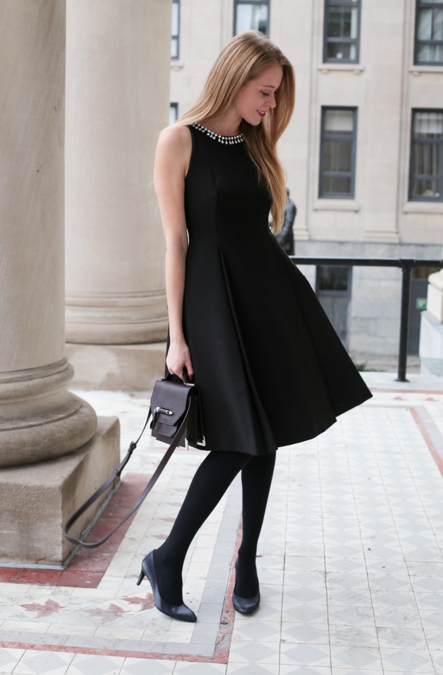 Kate Spade black cocktail dress