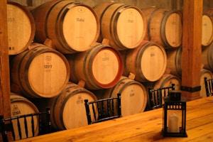 trius barrel room