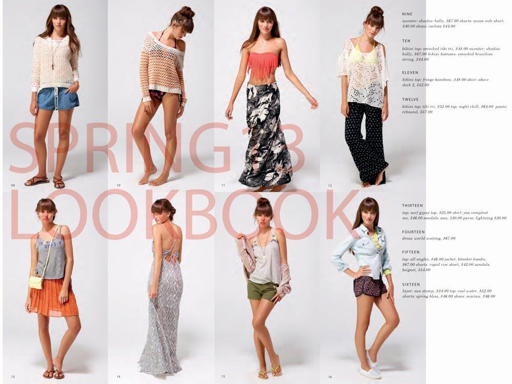 Roxy Spring/Summer 2013 Lookbook
