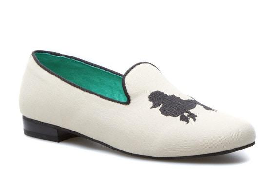 seychelles poodle slipper