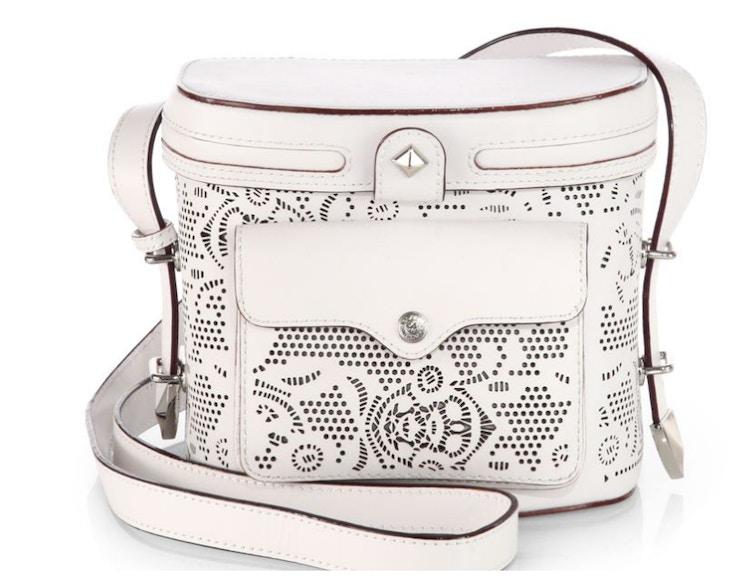 rebecca minkoff collin camera bag white laser cut saks fifth avenue