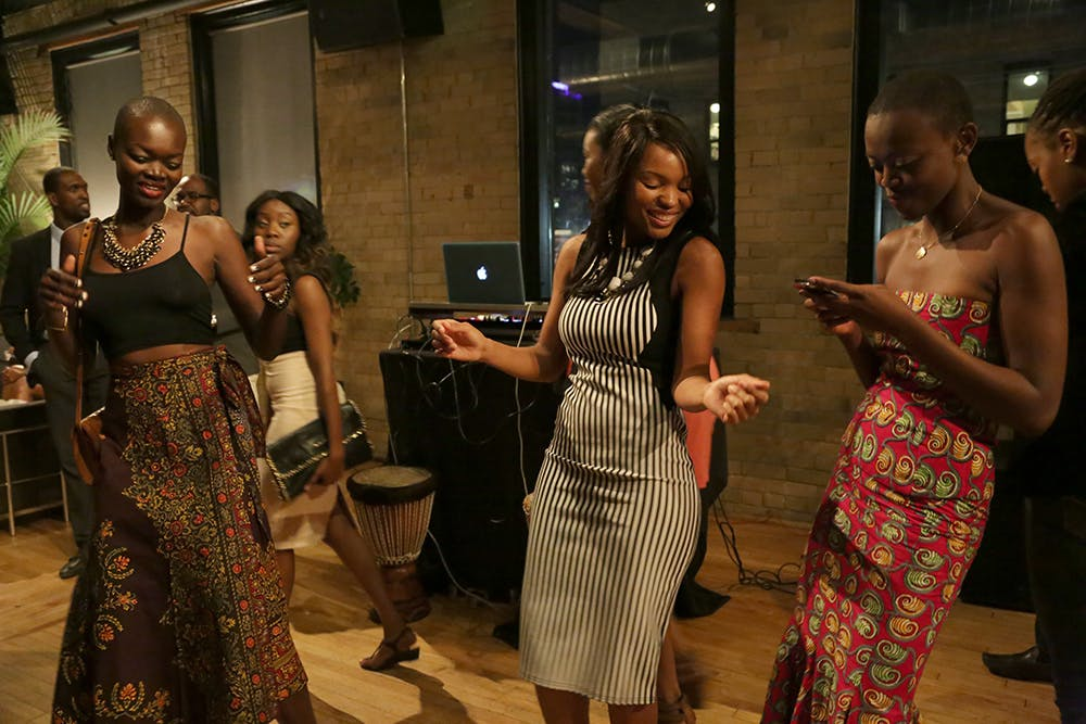African Fashion Week kick-off party