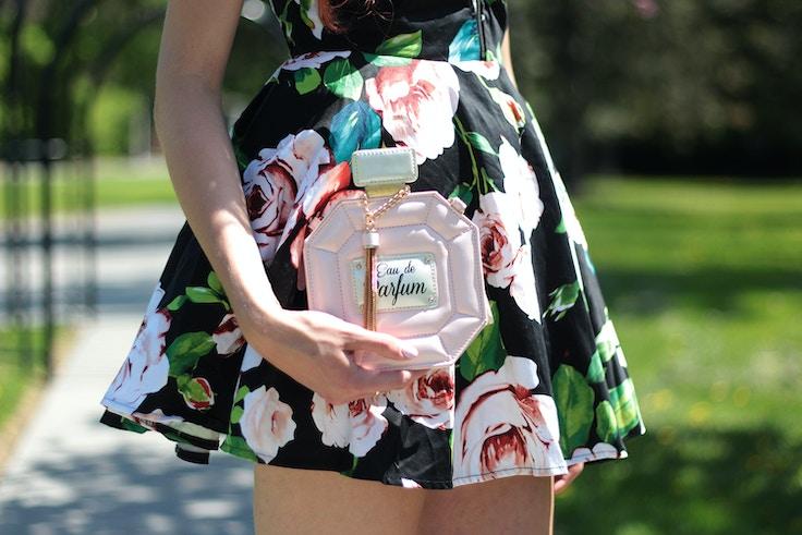 aldo shoes atma perfume bag in pink