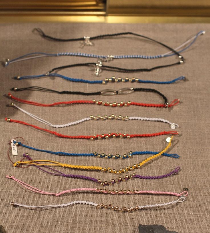 alessia magnotta cord bracelets