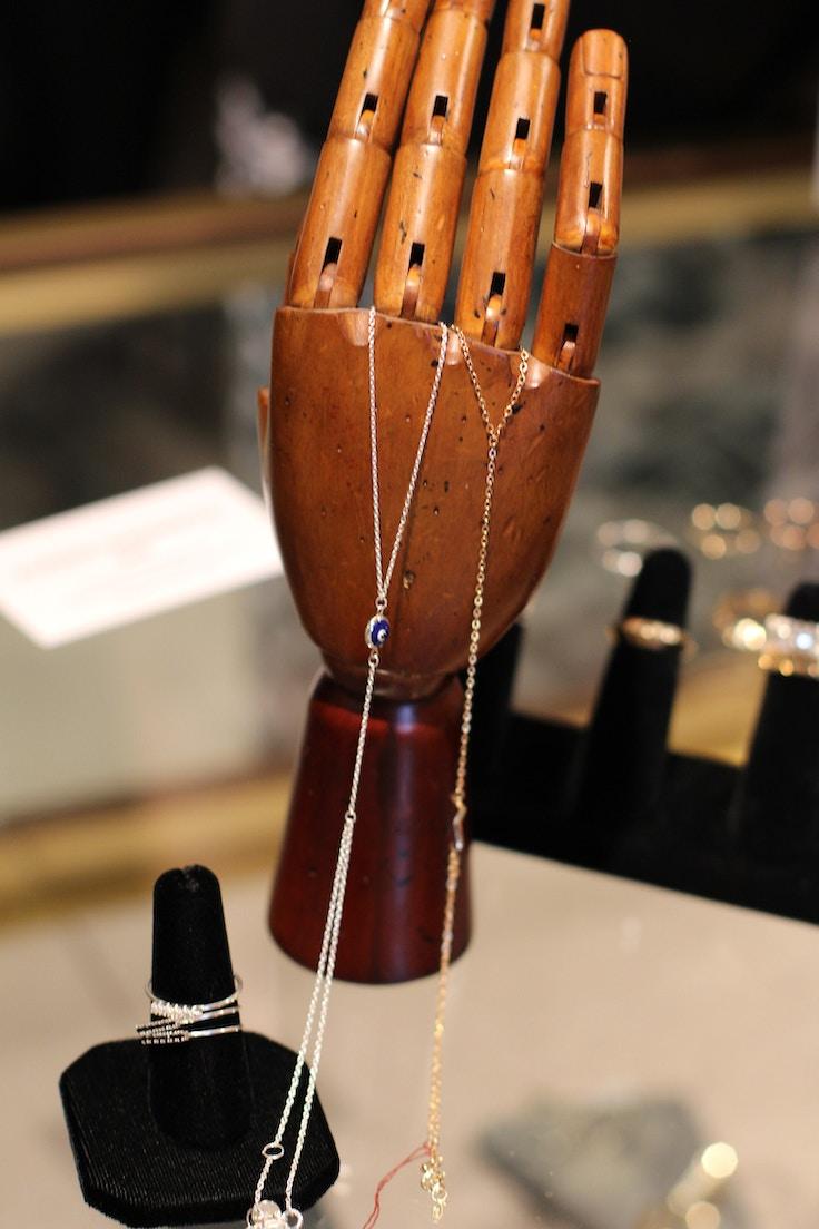 alessia magnotta slave chain bracelet