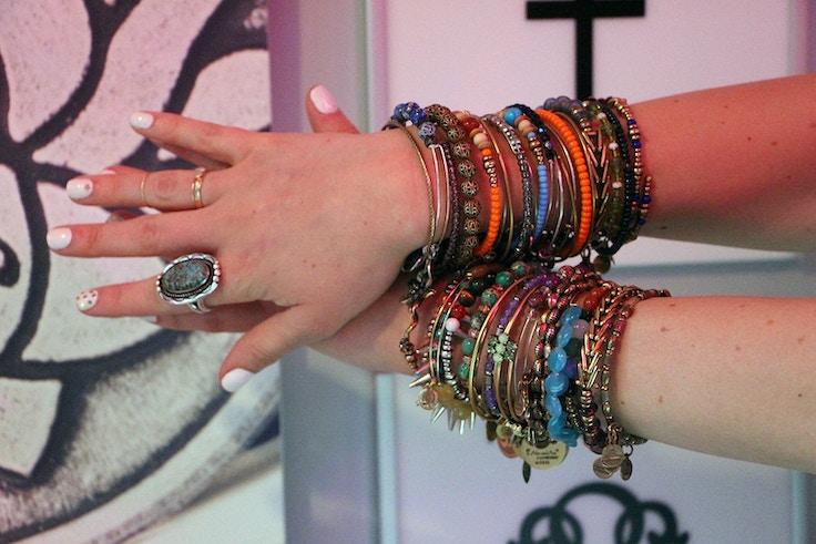 alex and ani arm party bangles