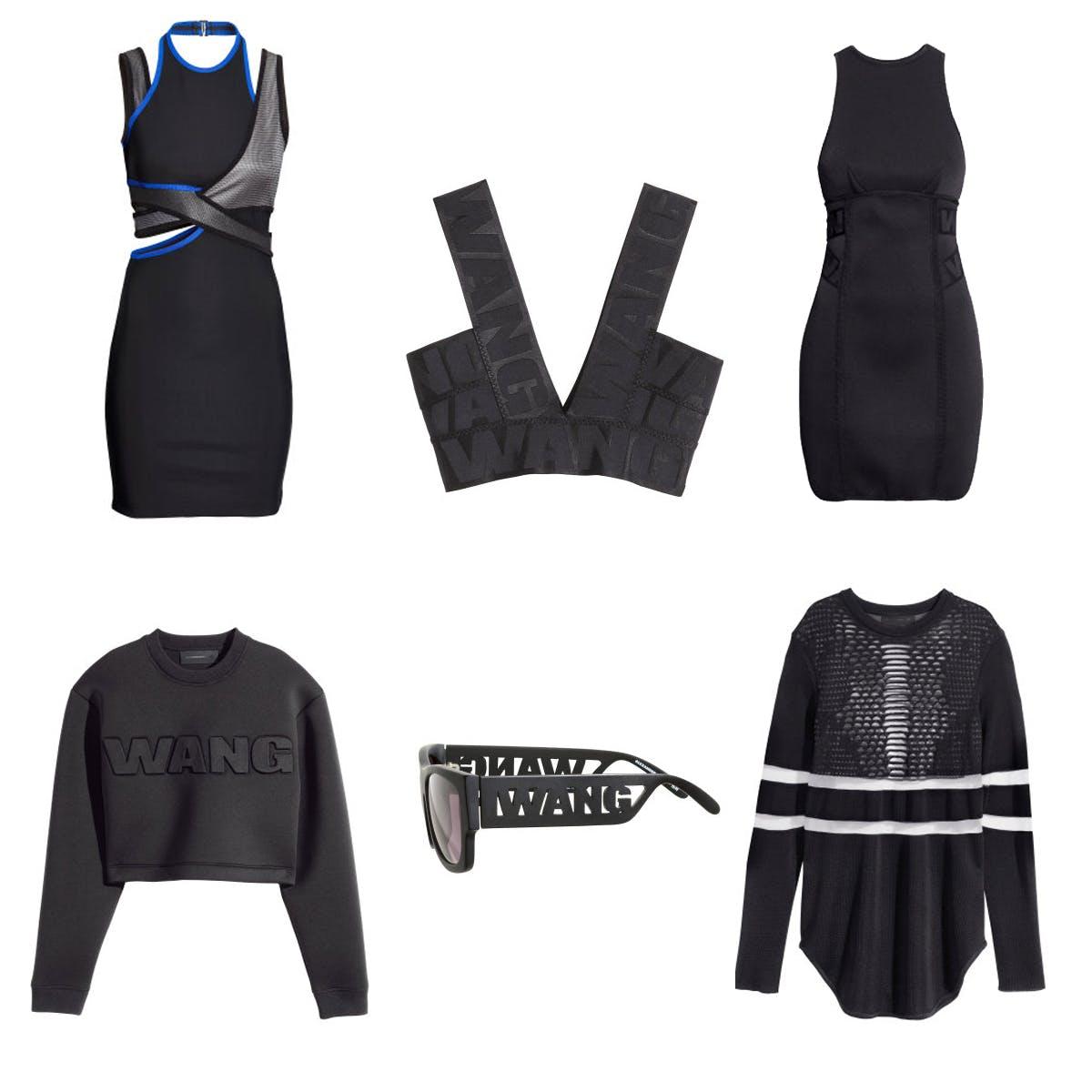 Alexander Wang for H&M shopping wishlist