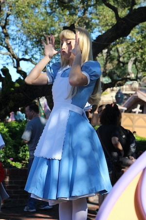 alice in wonderland character