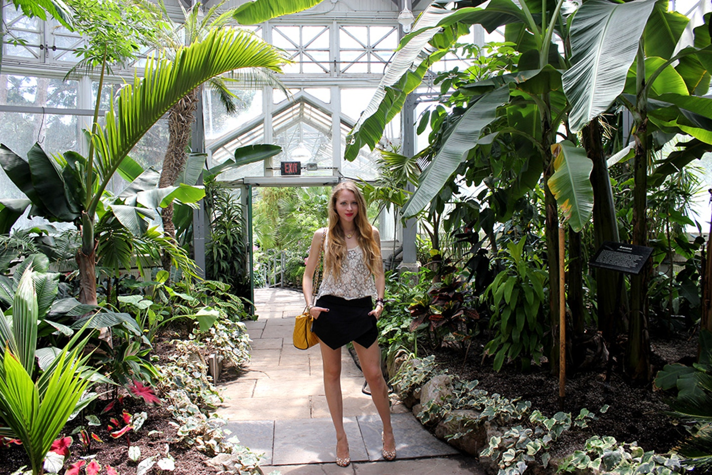 Allan Gardens + Zara Asymmetrical Skort