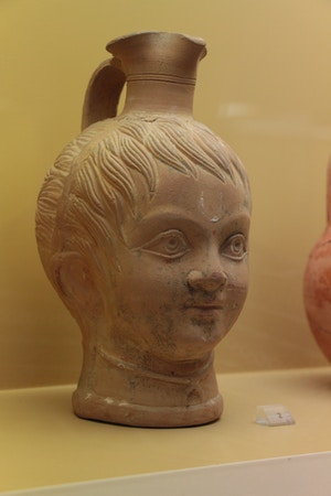 ancient agora museum baby vase