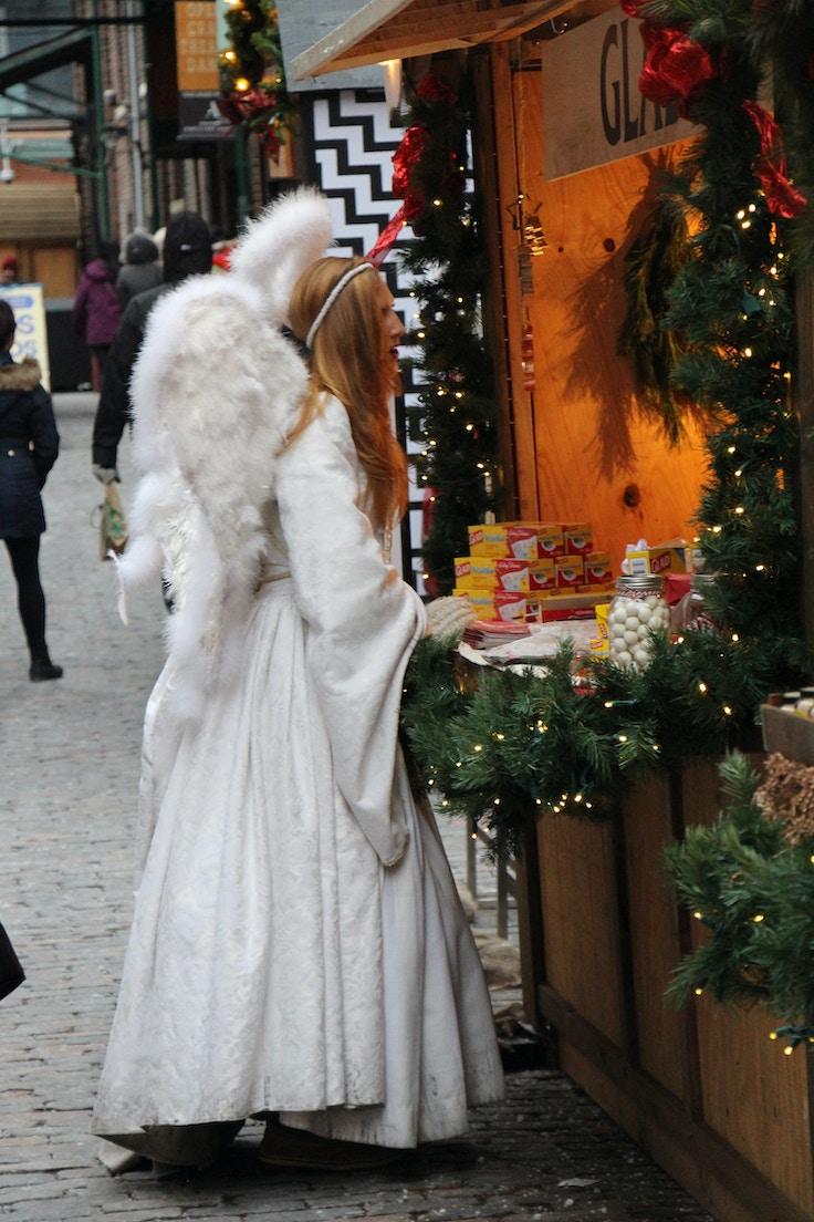 angel toronto christmas market