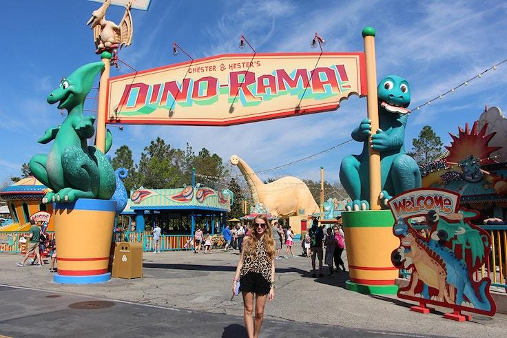 animal kingdom dinorama