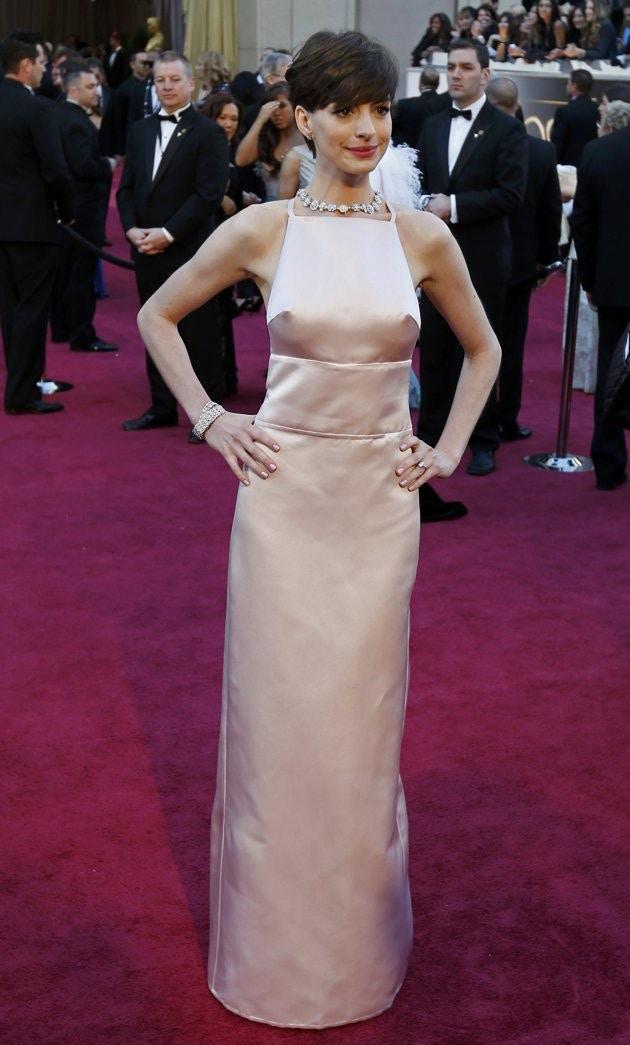 Anne Hathaway 2013 Oscars