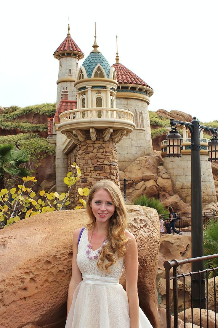 ariel castle new fantasyland