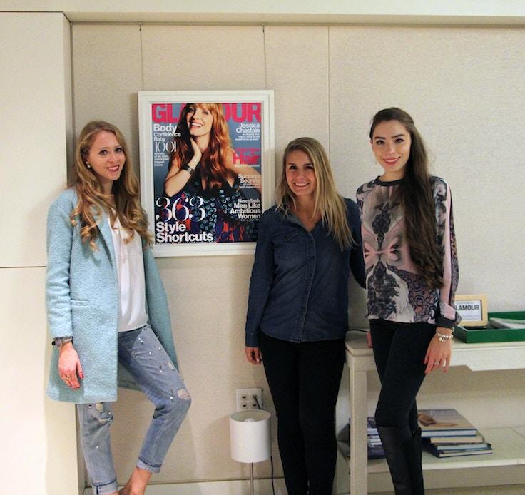 at glamour mag