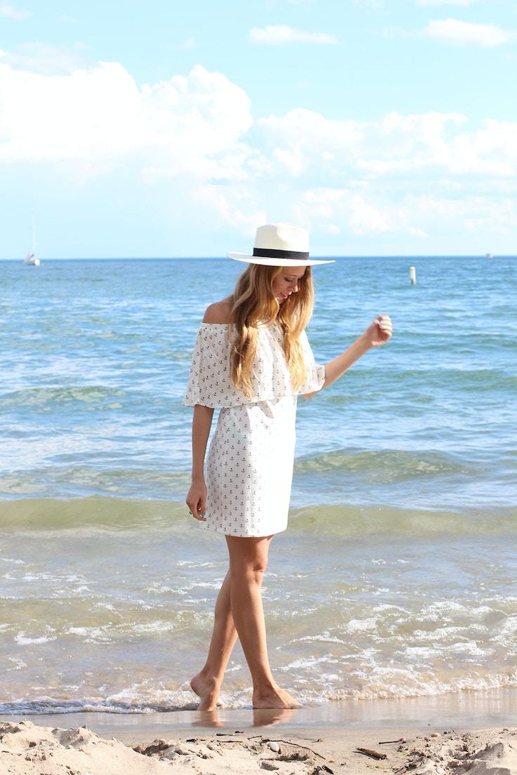 beach outfit zara dress