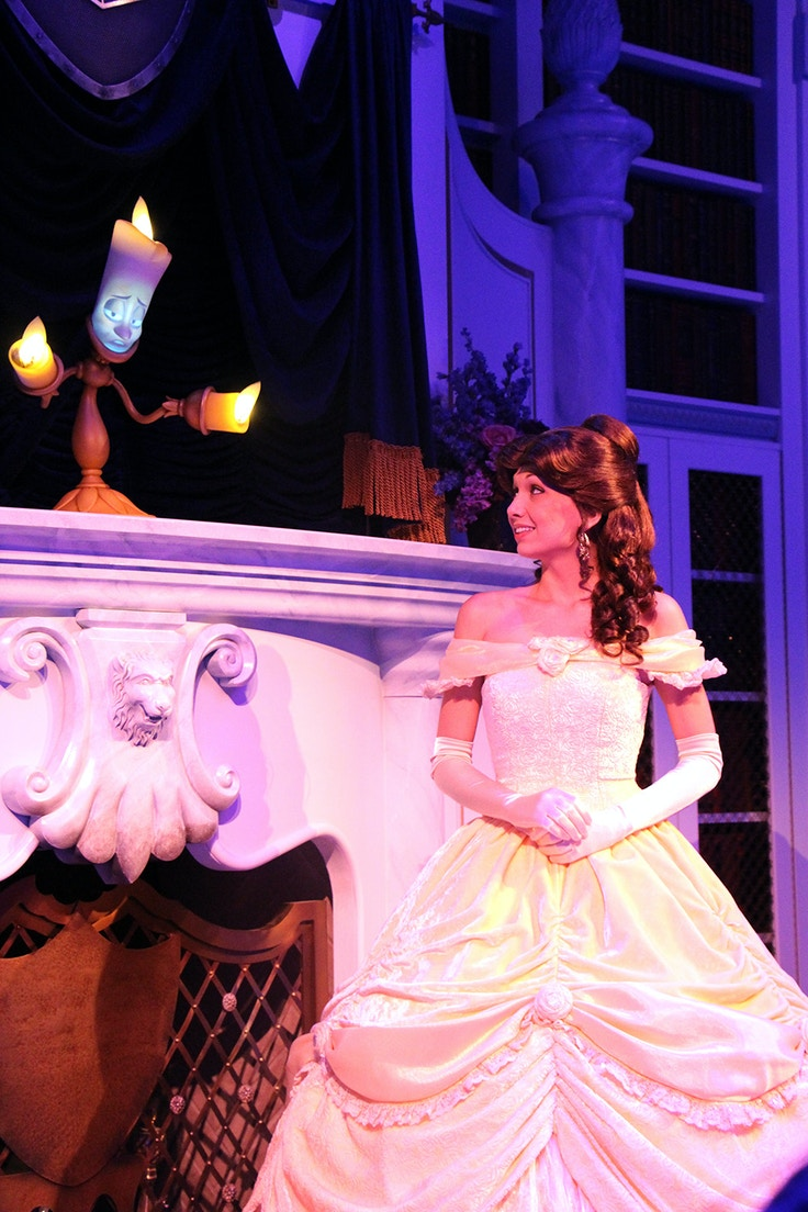 belle beauty and the beast storytime