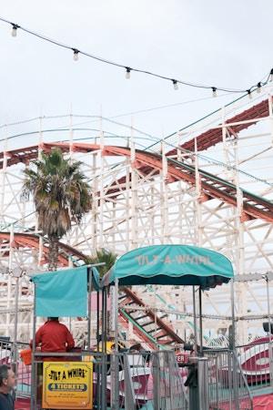 belmont park san diego vintage roller coaster