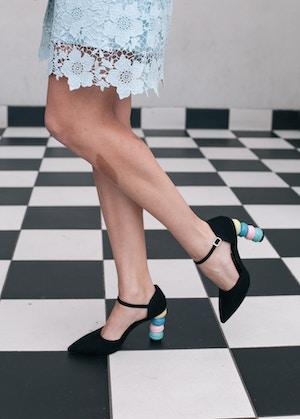 daisy street macaron heels asos