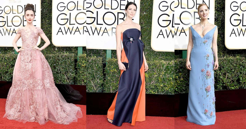 Best and Worst Dressed Golden Globes 2017 Red Carpet