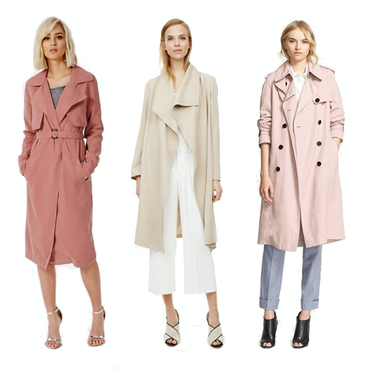 Best trench coats for spring 2015