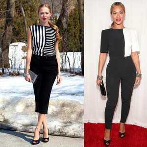 beyonce 2013 grammys jumpsuit get the look