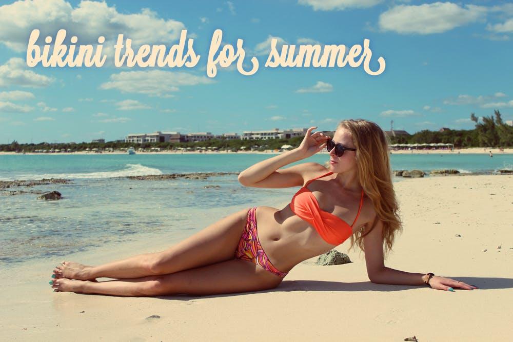 Bikini trends for summer 2013!