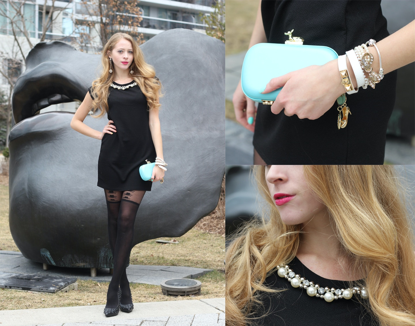 Little Black Dress and Pearls